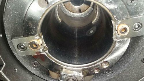Spindelkonus BT50 - vorher